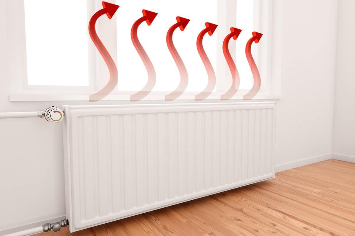 Verwarming radiatoren